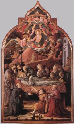 Фра Филиппо Липпи. Похороны святого Иеронима