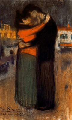 Lovers on the street