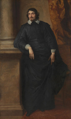 Anthony van Dyck. Portrait of the Abbot Scale