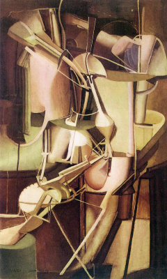 Marcel Duchamp. Bride