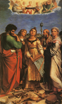 Raphael Santi. The Ecstasy Of Saint Cecilia