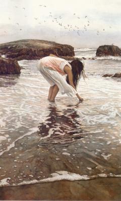 Steve Hanks. The sea
