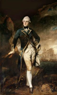Joshua Reynolds. Portrait of Captain Robert Manners