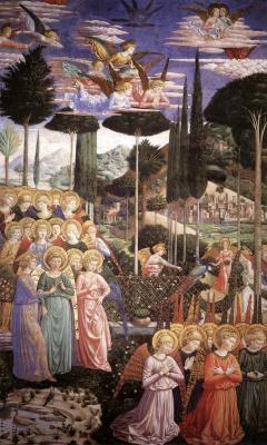 Беноццо Гоццоли. Ангелы