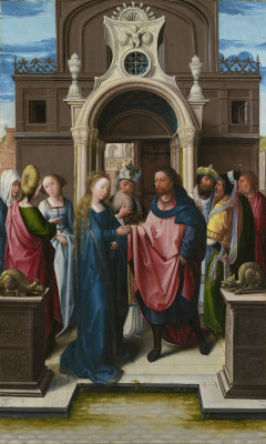 Bernart Van Orley. The Betrothal Of The Virgin Mary
