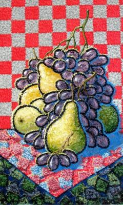 Yuri Vladimirovich Sizonenko. Pears and grapes.