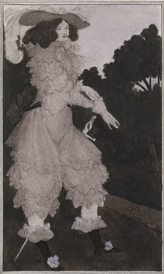 Aubrey Beardsley. Mademoiselle de Mopin