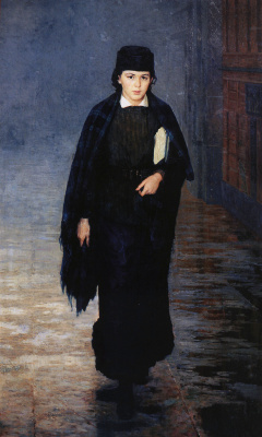 Николай Александрович Ярошенко. Курсистка. 1883
