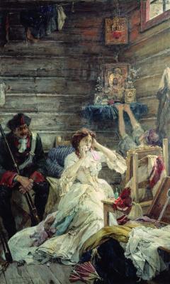 Pavel Alexandrovich Svedomsky. Maria Hamilton before execution