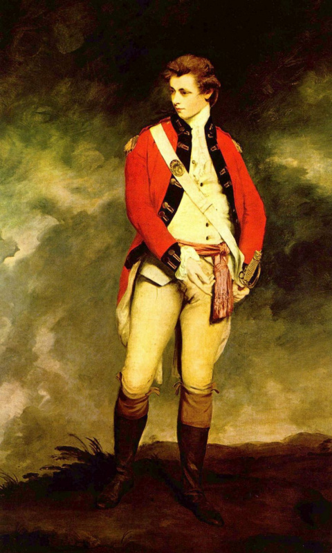 Joshua Reynolds. Col. John Haze St. Ledge