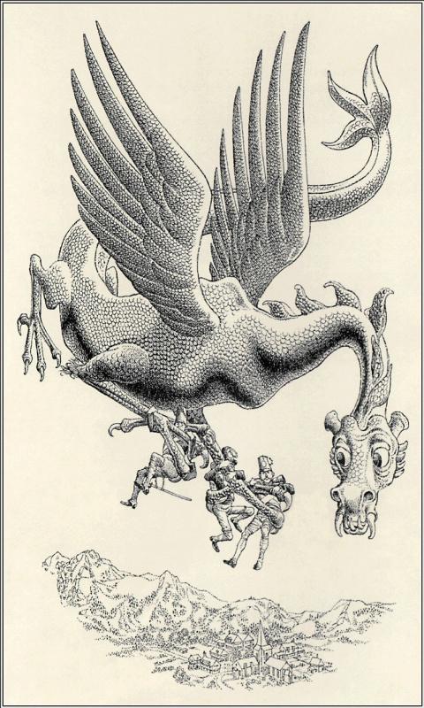 Робин Жак. Дракон 09