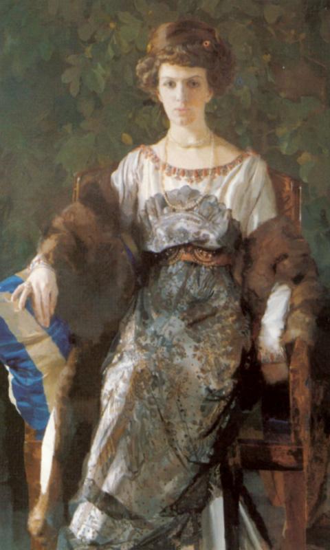 Константин Андреевич Сомов. Портрет Ефимии Павловны Носовой