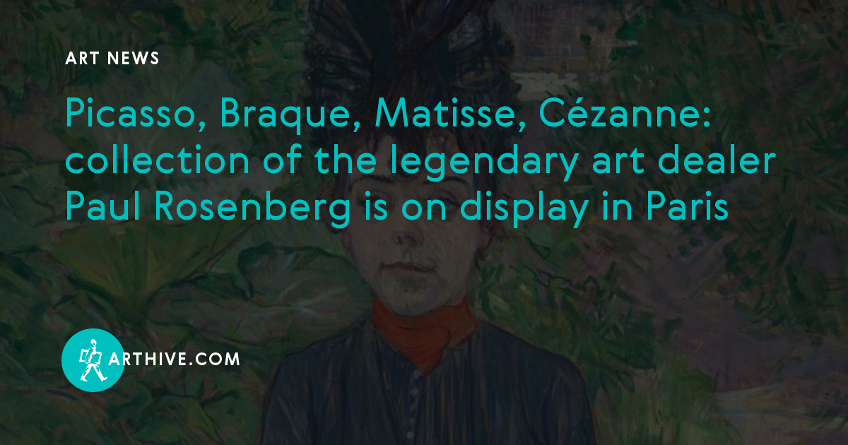 Picasso, Braque, Matisse, Cézanne: сollection of the legendary art